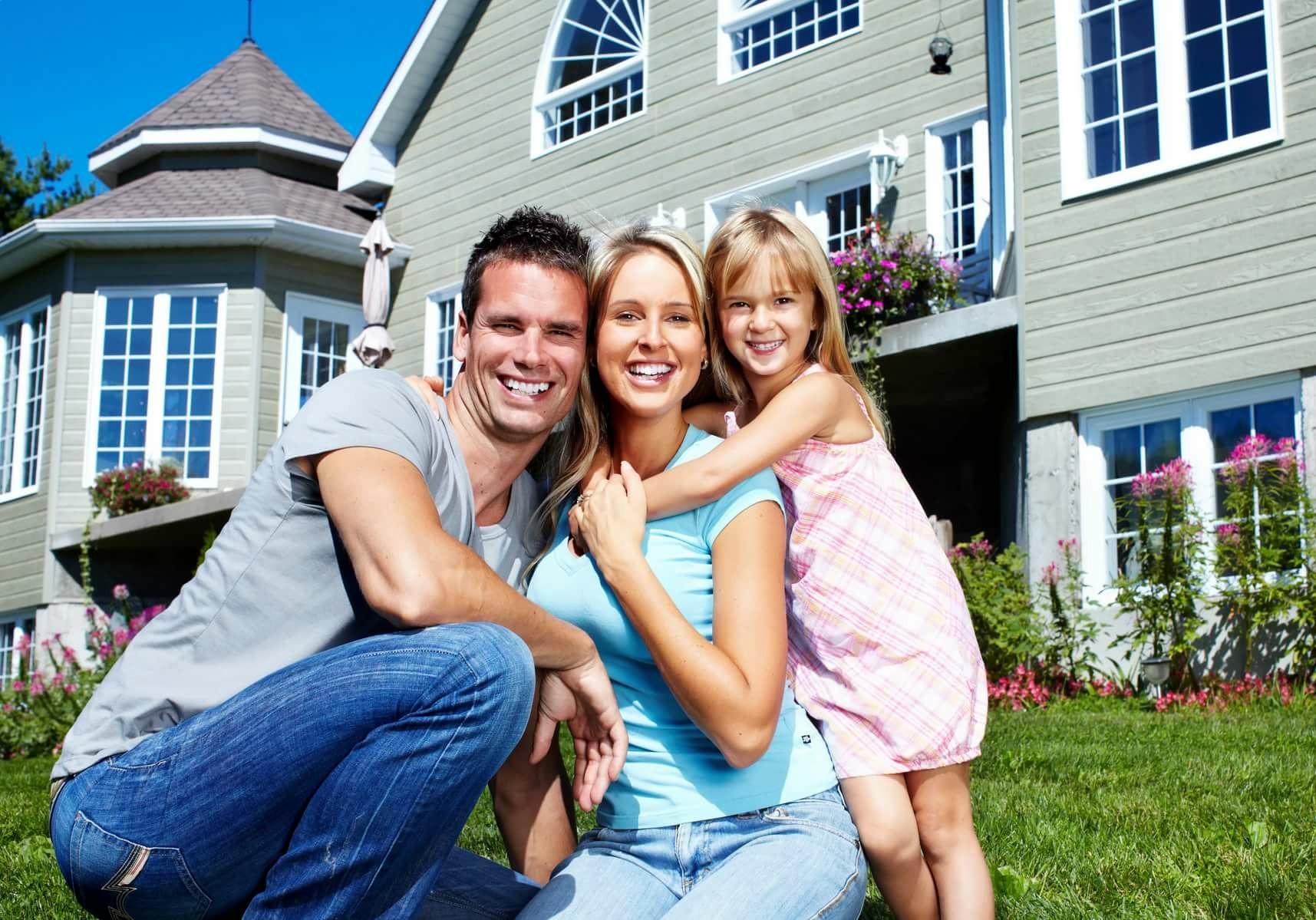 Семейные картинки с домом